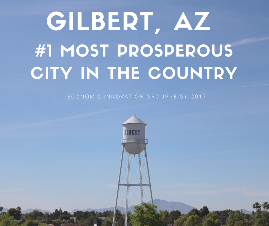 #1 Most Prosperous City in the Country