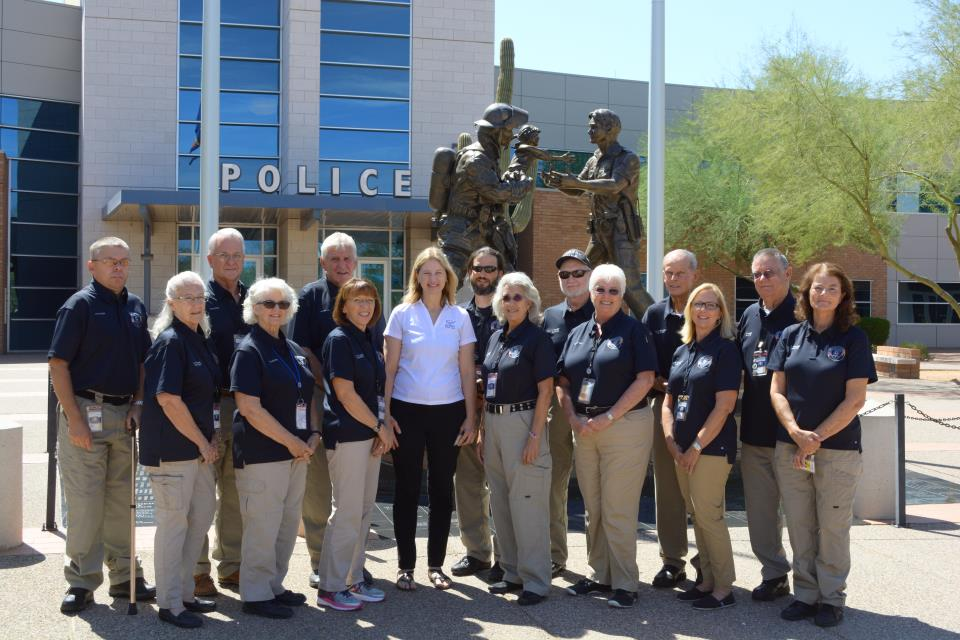 Gilbert Police Volunteers