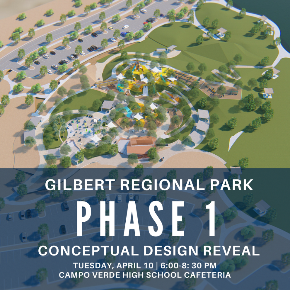Gilbert Regional Park Open House on April 10, 2018