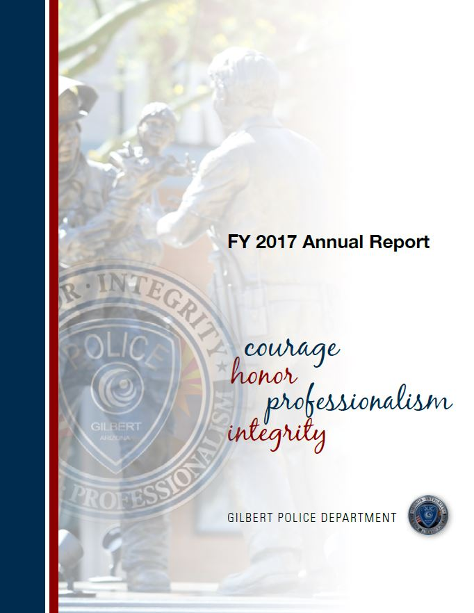 2017 Gilbert Police Annual Report