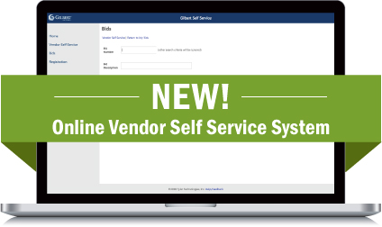 New! Online Vendor Self Service System