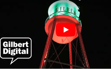 Gilbert to Light Water Tower for Holiday Season