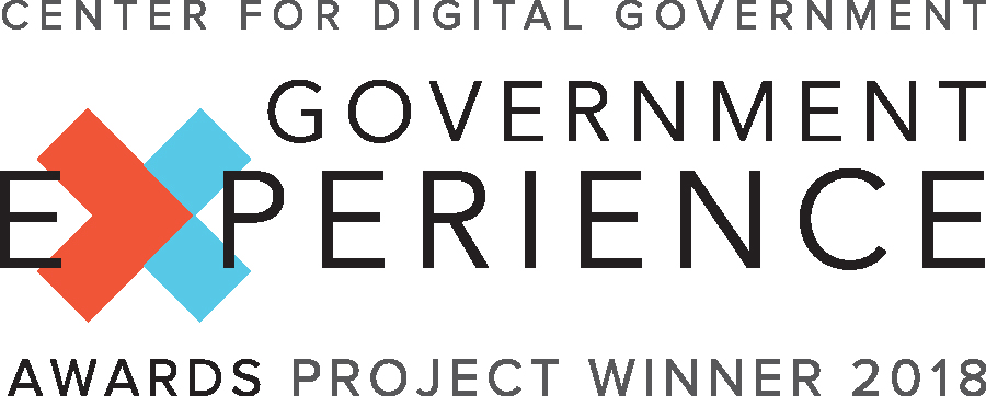 Government Experience Awards Project Winner