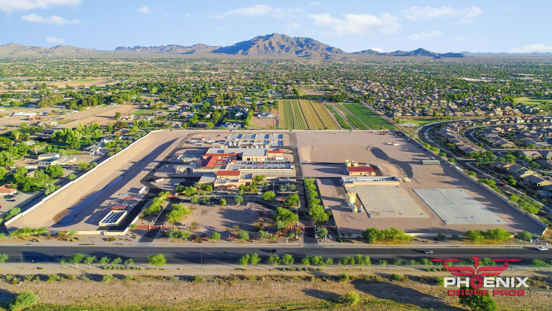 Santan Vista Water Treatment Plan Aerial Photo
