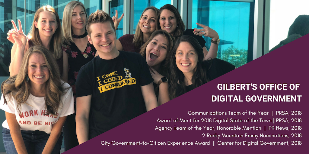 Gilbert Digital 2018 Awards
