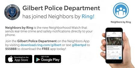 Gilbert Police Department Partners with Ring