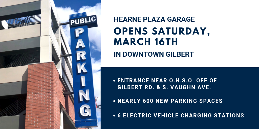 Hearne Plaza Parking Garage Opening