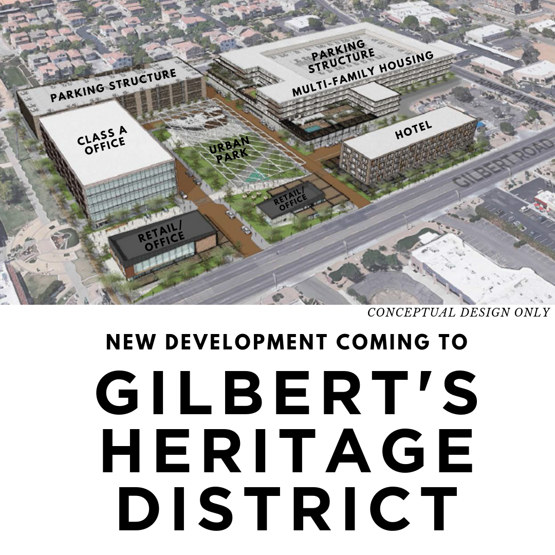 New Development Coming to Gilbert's Heritage District