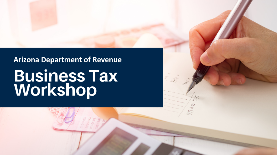 Business Tax Workshop