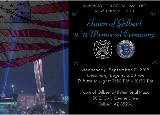 Sept 11 Ceremony - 2019
