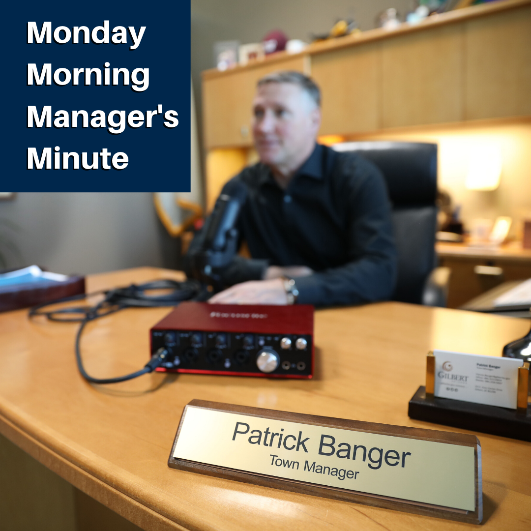 Monday Morning Manager's Minute