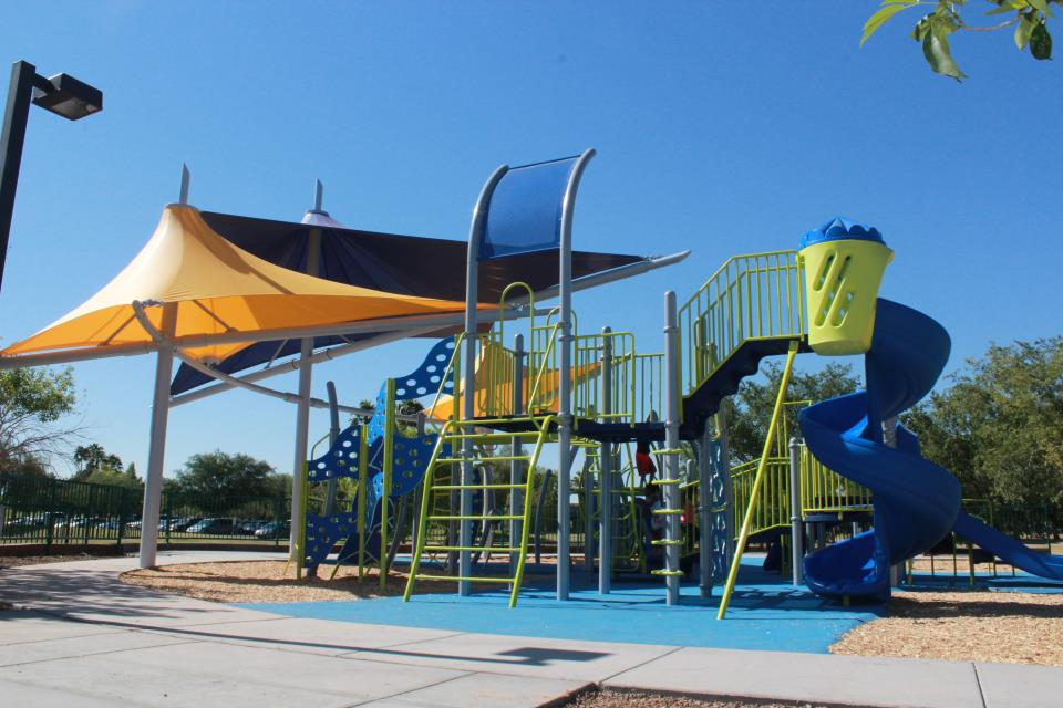 Freestone playground