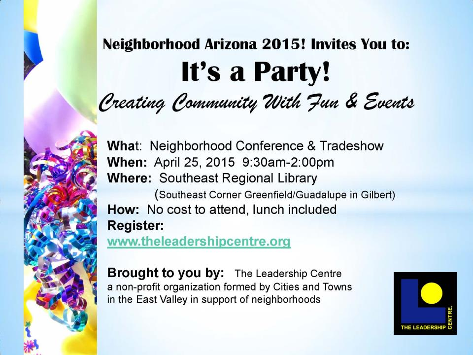 Neighborhood Conference and Tradeshow 2015