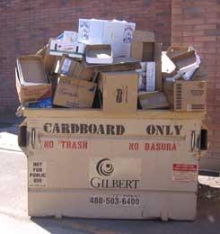 Cardboard Bin