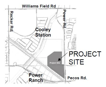 Public Safety Training Facility Project Map
